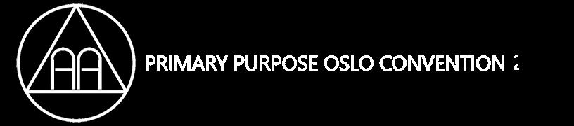 Primary Purpose Convention 2019